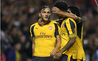 Nottingham Forest 0 Arsenal 4: Perez at the double as Gunners ease through