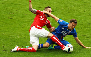 Bjarnason hails team spirit among Iceland friends