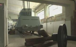 Nazi gold train replica being built in Poland