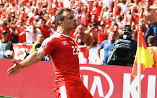 Shaqiri unhappy with Poland celebrations after Euro 2016 exit