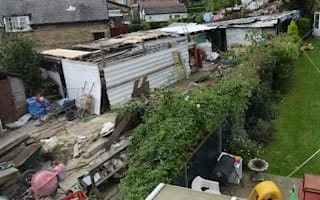 Bradford garden filled with rubble for ten years