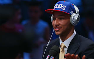 Top NBA pick Simmons ready to lead 76ers