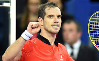 Gasquet fights back to set up final with Mathieu