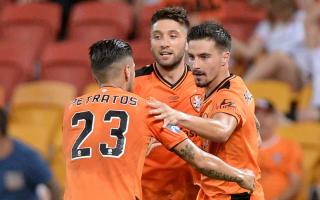 Brisbane Roar 3 Western Sydney Wanderers 2: Maclaren at the double