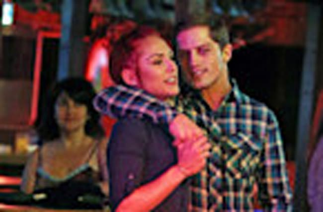 'Dancing With the Stars' Partners Sharna Burgess and Bonner Bolton Snapped on Flirty Night Out