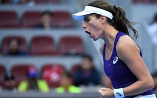 Konta starts strongly, Kvitova dominates Vinci