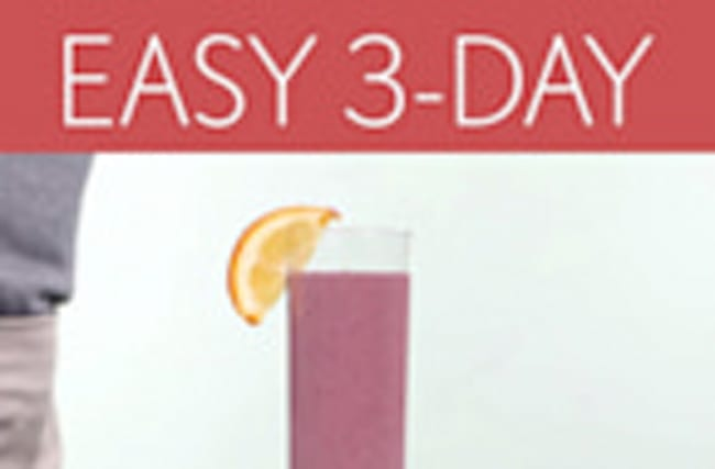 Cooking Light 3-Day Cleanse