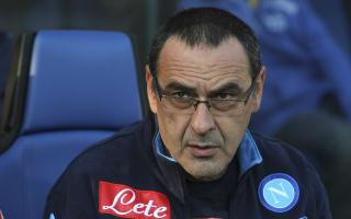 Sarri: Napoli were on par with Juventus