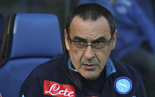 Sarri: Napoli were on par with Juventus