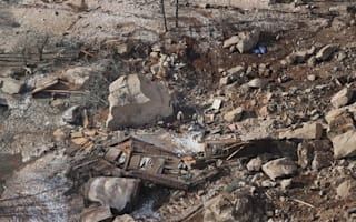 Huge boulder crushes house and kills two in Utah landslide