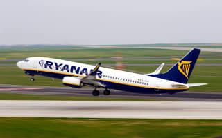 Late Ryanair passenger runs onto tarmac and flags down plane