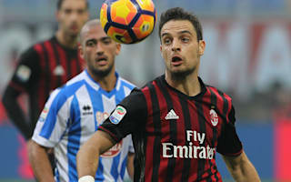 Bonaventura dedicates Milan winner to earthquake victims