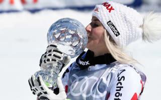 Brem claims giant slalom globe despite Rebensburg St Moritz win