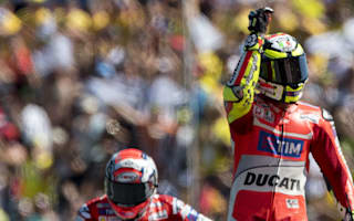 Iannone elated with Ducati parting gift