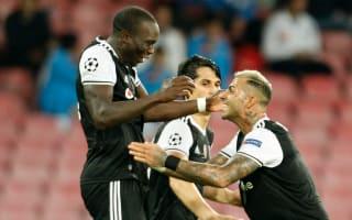 Napoli 2 Besiktas 3: Aboubakar double earns crucial away for Turkish champions