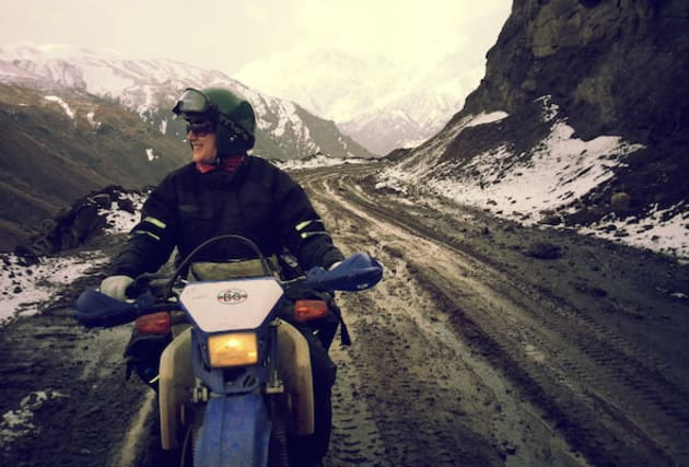 We chat to adventure motorcyclist Lois Pryce about her Revolutionary ride across Iran