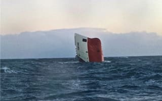 Eight missing after ship sinks off Scotland