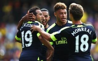 Watford 1 Arsenal 3: Sanchez inspires Gunners' first win of the season
