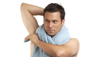 Does deodorant make men more manly?