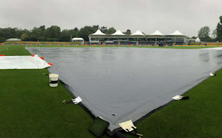Play abandoned due to rain in Christchurch