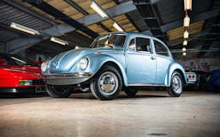 Time-warp VW beetle heads to upcoming classic car auction