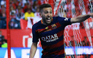 Alba returns to Barcelona squad for Supercopa de Espana