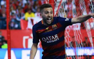 Alba returns to Barcelona squad for Supercopa de Espana