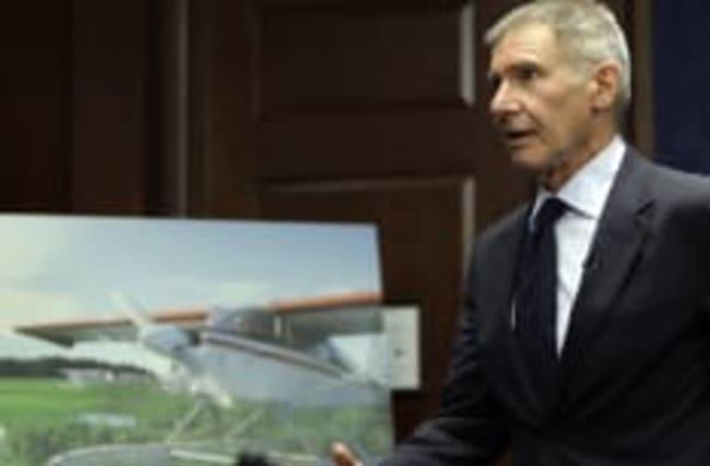 Harrison Ford: Video zeigt seinen Beinahe-Crash mit einer Boeing