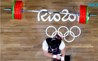 The horrific injury which ended this Armenian weightlifter's Olympic dream might put you off your lunch