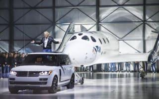 Range Rover help reveal all-new Virgin spacecraft