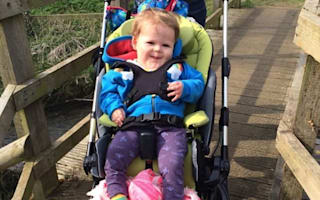 Two-year-old gets new lease of life thanks to anonymous £3,500 donation