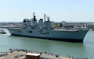 Aircraft carrier HMS Illustrious to make final journey to Turkish scrapyard