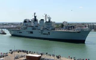 Aircraft carrier HMS Illustrious to make final journey to Turkish scrapyard