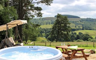 Britain's best holidays with hot tubs