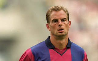Barcelona more of a team than Real Madrid - De Boer