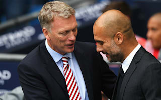 Moyes: I am under pressure - just like Guardiola