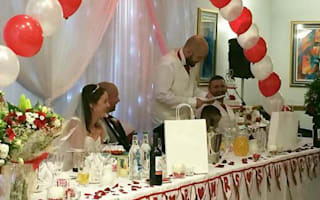 Kindhearted staff work for free to save couple's wedding