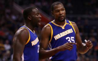 Durant argument 'a tactic' insists Warriors team-mate Green