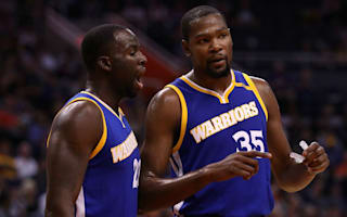 Green says LeBron is great, but Durant is 'a created player'