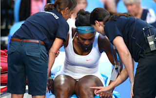 Injured Serena withdraws from Hopman Cup