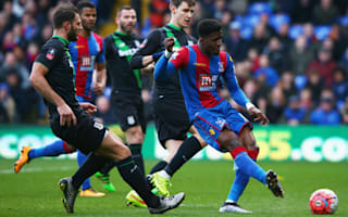 Crystal Palace 1 Stoke City 0: Zaha dumps Potters out of second cup in a week