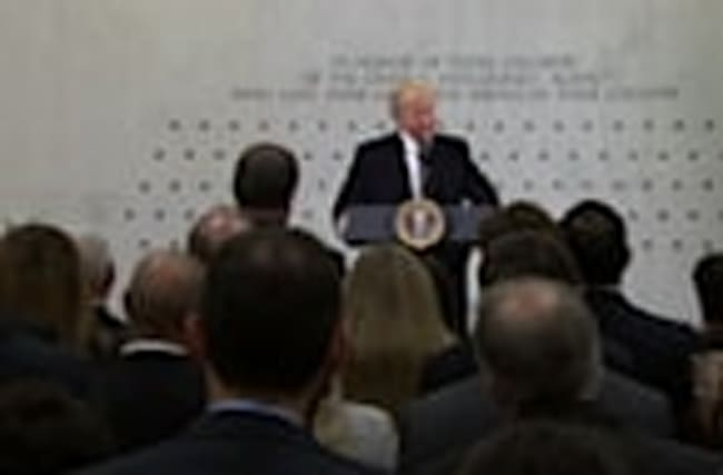 Trump vows full support to CIA