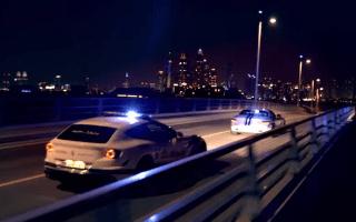 Dubai police show off their supercar fleet