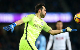 Manchester City must be mentally strong, says embattled Bravo