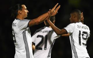 Rashford hails Ibrahimovic's winning mentality