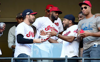 LeBron excited about championship ceremony and World Series