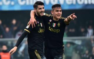 Chievo 0 Juventus 4: Morata brace maintains champions' streak