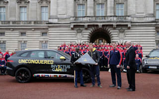 Jaguar help launch the 2016 Invictus Games
