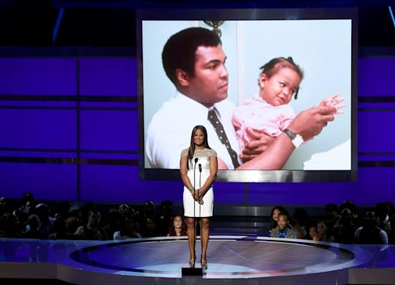 Laila Ali pays emotional tribute to dad Muhammad