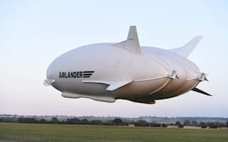 World's largest aircraft delights crowds on maiden voyage
